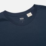 Levi's 2 Pack Crew Neck Men's T-shirt Navy/White photo- 1