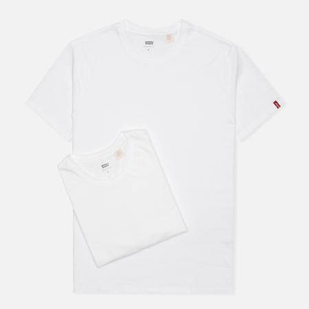 Levi's 2 Pack Crew Neck Men's T-shirt White