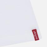 Комплект мужских футболок Levi's 2 Pack White фото- 2