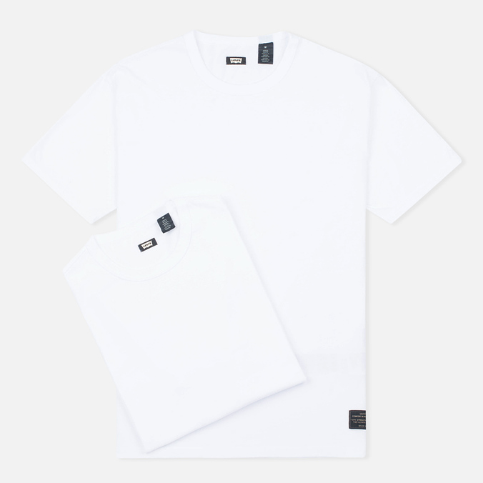Levi's Skateboarding 2 Pack Skate Men's T-shirt White