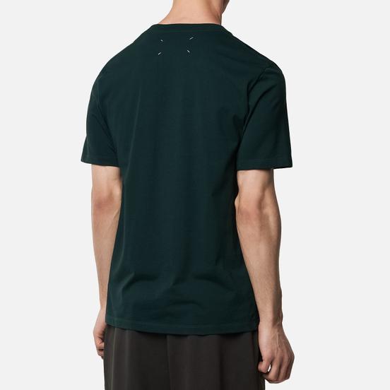 Комплект мужских футболок Maison Margiela 3-Pack Classic Bottle Green/Bordeaux/Navy