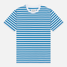 Комплект мужских футболок Maison Margiela 3-Pack Stereotype Stripes White Black/White Palace Blue/White Light Marine фото- 3