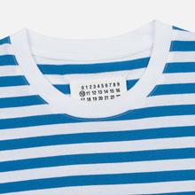 Комплект мужских футболок Maison Margiela 3-Pack Stereotype Stripes White Black/White Palace Blue/White Light Marine фото- 4