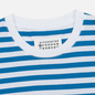 Комплект мужских футболок Maison Margiela 3-Pack Stereotype Stripes White Black/White Palace Blue/White Light Marine фото - 4