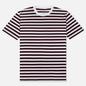 Комплект мужских футболок Maison Margiela 3-Pack Stripes Dark Marine/Bordeaux/Indigo фото - 2