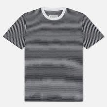 Комплект мужских футболок Maison Margiela 3-Pack Stripes Dark Marine/Bordeaux/Indigo фото- 3