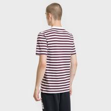Комплект мужских футболок Maison Margiela 3-Pack Stripes Dark Marine/Bordeaux/Indigo фото- 5