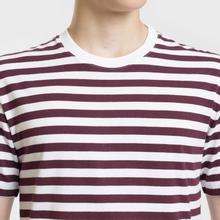 Комплект мужских футболок Maison Margiela 3-Pack Stripes Dark Marine/Bordeaux/Indigo фото- 7