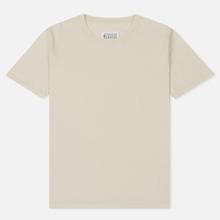 Комплект мужских футболок Maison Margiela Stereotype Crew Neck 3-Pack Off White/Optic White/Cream фото- 1