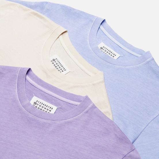 Комплект мужских футболок Maison Margiela Stereotype Crew Neck 3-Pack Pervinca/Radiant Orchid/Warm Sand
