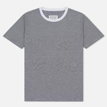 Комплект мужских футболок Maison Margiela Stereotype Stripe Crew Neck 3-Pack Black/White фото- 3
