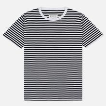 Комплект мужских футболок Maison Margiela Stereotype Stripe Crew Neck 3-Pack Black/White фото- 2