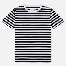 Комплект мужских футболок Maison Margiela Stereotype Stripe Crew Neck 3-Pack Black/White фото- 1