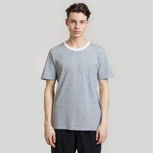 Комплект мужских футболок Maison Margiela Stereotype Stripe Crew Neck 3-Pack Black/White фото- 4