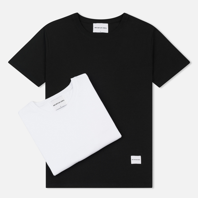 Комплект мужских футболок MKI Miyuki-Zoku Twin Pack Black/White