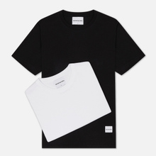Комплект мужских футболок MKI Miyuki-Zoku Twin Pack White/Black фото- 4