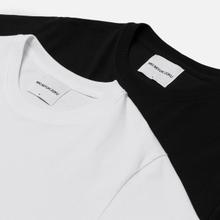 Комплект мужских футболок MKI Miyuki-Zoku Twin Pack White/Black фото- 5