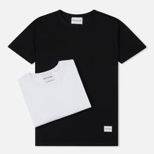 Комплект мужских футболок MKI Miyuki-Zoku Twin Pack White/Black фото- 0