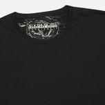 Комплект мужских футболок Napapijri Basic Crew Neck x2 Black фото- 1