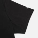 Комплект мужских футболок Napapijri Basic Crew Neck x2 Black фото- 2