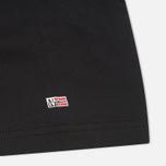 Комплект мужских футболок Napapijri Basic Crew Neck x2 Black фото- 3
