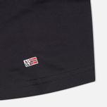 Комплект мужских футболок Napapijri Basic Crew Neck x2 Blue Marine фото- 3