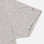Комплект мужских футболок Napapijri Basic Crew Neck x2 Grey Melange фото- 2