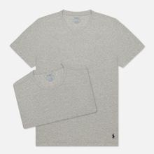 Комплект мужских футболок Polo Ralph Lauren Classic Crew Neck 2-Pack Anthracite/Anthracite фото- 1