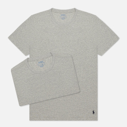 Комплект мужских футболок Polo Ralph Lauren Classic Crew Neck 2-Pack Anthracite/Anthracite