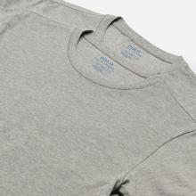 Комплект мужских футболок Polo Ralph Lauren Classic Crew Neck 2-Pack Anthracite/Anthracite фото- 2