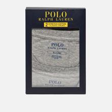Комплект мужских футболок Polo Ralph Lauren Classic Crew Neck 2-Pack Anthracite/Anthracite фото- 4