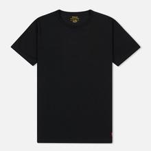 Комплект мужских футболок Polo Ralph Lauren Classic Crew Neck 2-Pack Black/Black фото- 1