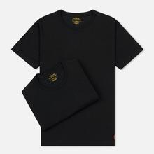 Комплект мужских футболок Polo Ralph Lauren Classic Crew Neck 2-Pack Black/Black фото- 0