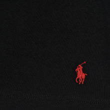 Комплект мужских футболок Polo Ralph Lauren Classic Crew Neck 2-Pack Black/Black фото- 3