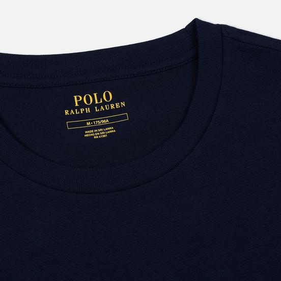 Комплект мужских футболок Polo Ralph Lauren Classic Crew Neck 2-Pack Navy/Navy