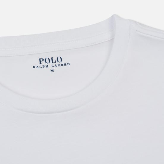 Комплект мужских футболок Polo Ralph Lauren Classic Crew Neck 2-Pack White/White