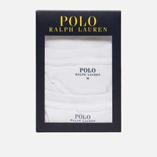 Комплект мужских футболок Polo Ralph Lauren Classic Crew Neck 2-Pack White/White фото- 4