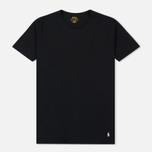 Комплект мужских футболок Polo Ralph Lauren Classic Crew Neck 3-Pack Black/Black/Black фото- 1
