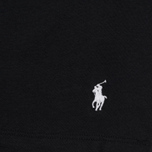 Комплект мужских футболок Polo Ralph Lauren Classic Crew Neck 3-Pack Black/Black/Black фото- 3