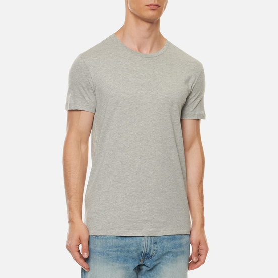 Комплект мужских футболок Polo Ralph Lauren Classic Crew Neck 3-Pack White/Black/Andover Heather