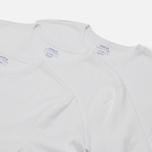 Комплект мужских футболок Polo Ralph Lauren Classic Crew Neck 3-Pack White/White/White фото- 2