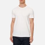 Комплект мужских футболок Polo Ralph Lauren Classic Crew Neck 3-Pack White/White/White фото- 3