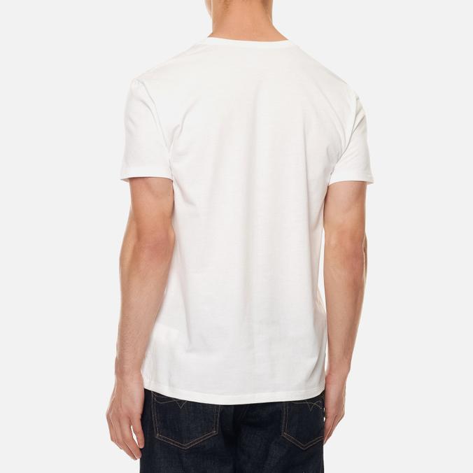 Комплект мужских футболок Polo Ralph Lauren Classic Crew Neck 3-Pack White/White/White