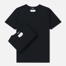 Комплект мужских футболок Reigning Champ Knit Jersey Set 2 Pack Black фото- 0