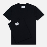 Reigning Champ Knit Jersey Men's T-shirts Set 2 Pack Black photo- 0