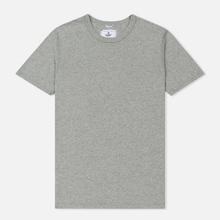 Комплект мужских футболок Reigning Champ Knit Jersey Set 2 Pack Heather Grey фото- 1