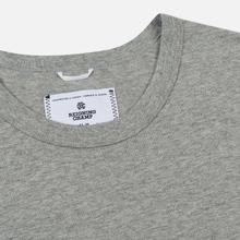 Комплект мужских футболок Reigning Champ Knit Jersey Set 2 Pack Heather Grey фото- 2