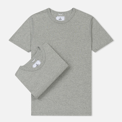 Комплект мужских футболок Reigning Champ Knit Jersey Set 2 Pack Heather Grey