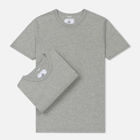 Комплект мужских футболок Reigning Champ Knit Jersey Set 2 Pack Heather Grey