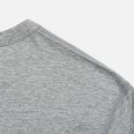 Комплект мужских футболок Reigning Champ Knit Jersey Set 2 Pack Heather Grey фото- 4